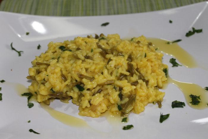 Risotto zafferano e asparagi - Ricette Passo Passo con foto