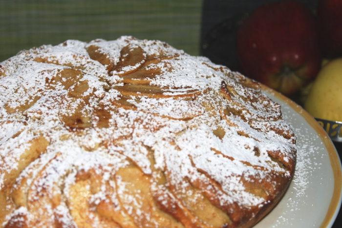 Torta di mele light - Ricette Passo Passo con foto