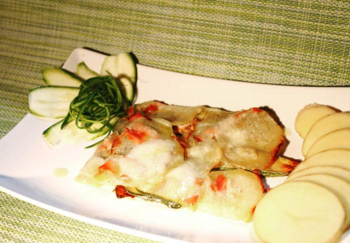 Schiacciata zucchine e patate - Ricette Passo Passo con foto