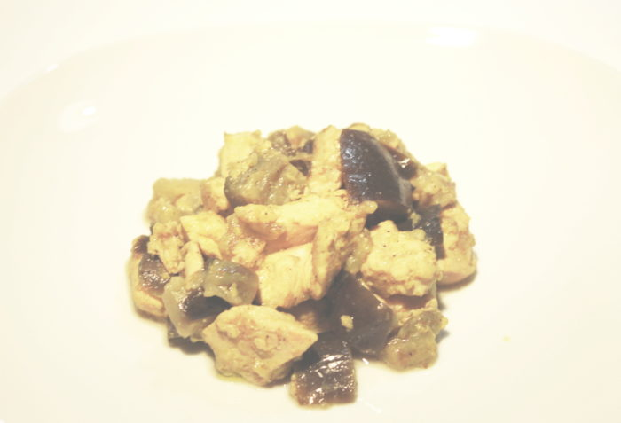 Pollo curry e melanzane - Ricette Passo Passo con foto
