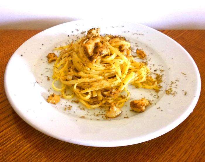 Linguine funghi e tartufo - Ricette Passo Passo con foto