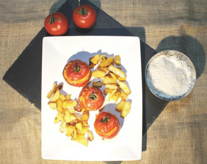Pomodori ripieni di riso - Ricette Passo Passo con foto