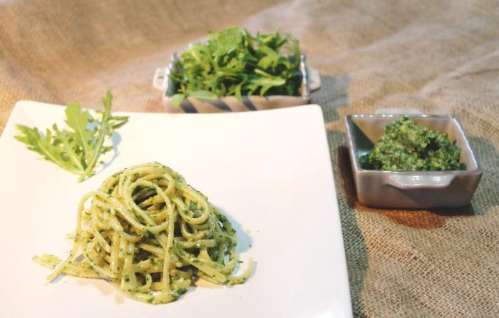 Pesto di rucola - Ricette Passo Passo con foto