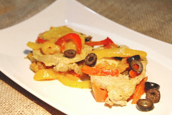 Arista e peperoni - Ricette Passo Passo con foto