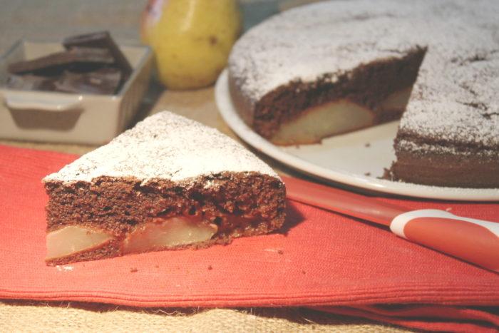 Torta cioccolato e pere - Ricette Passo Passo con foto