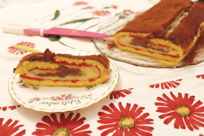 Rotolo zuppa inglese - Ricette Passo Passo con foto