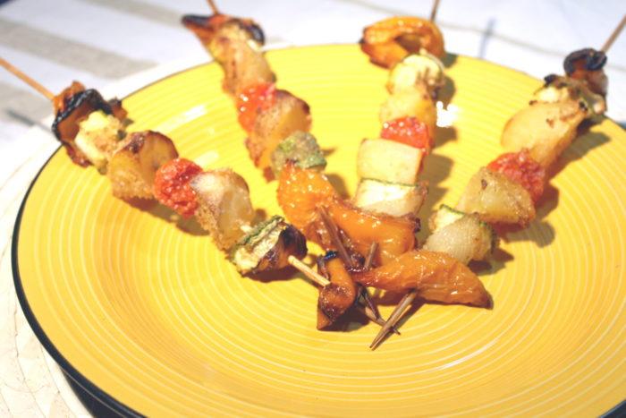 Spiedini di verdure senza glutine - Ricette Passo Passo con foto