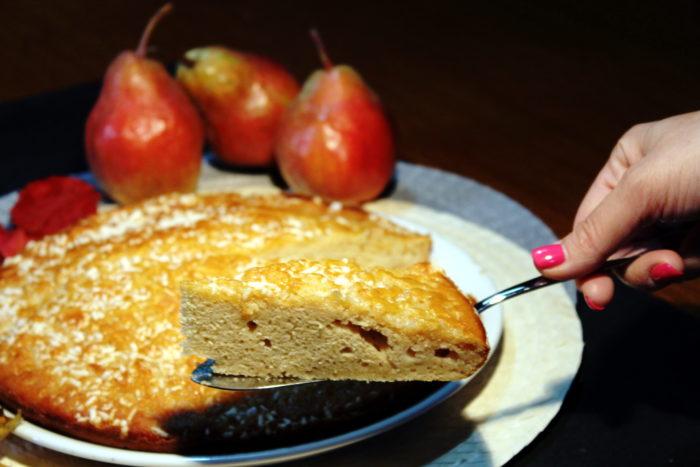 Torta ricotta e pere - Ricette Passo Passo con foto
