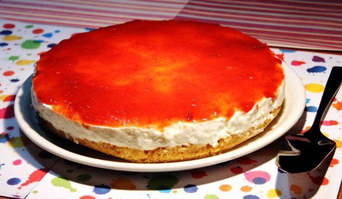 Torta con bavarese di yogurt - Ricette Passo Passo con foto