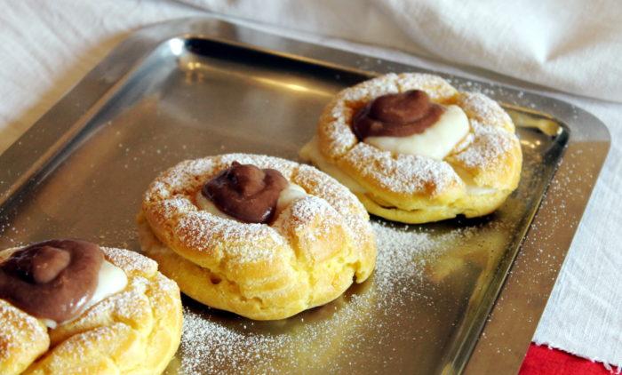 Zeppole di San Giuseppe al forno - Ricette Passo Passo con foto