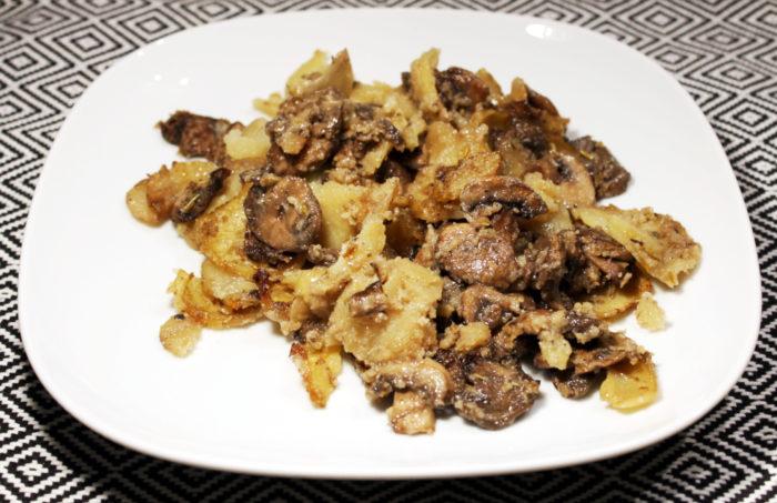 Funghi e patate al forno - Ricette Passo Passo con foto