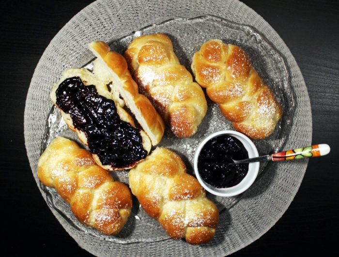 Trecce di pan brioche - Ricette Passo Passo con foto