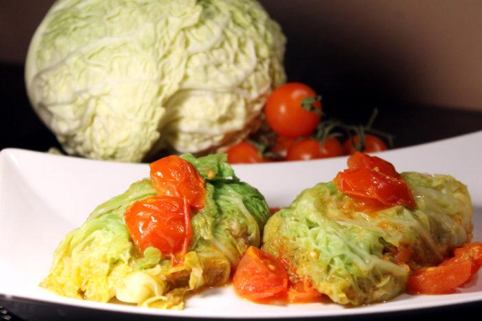 Involtini di verza e merluzzo - Ricette Passo Passo con foto