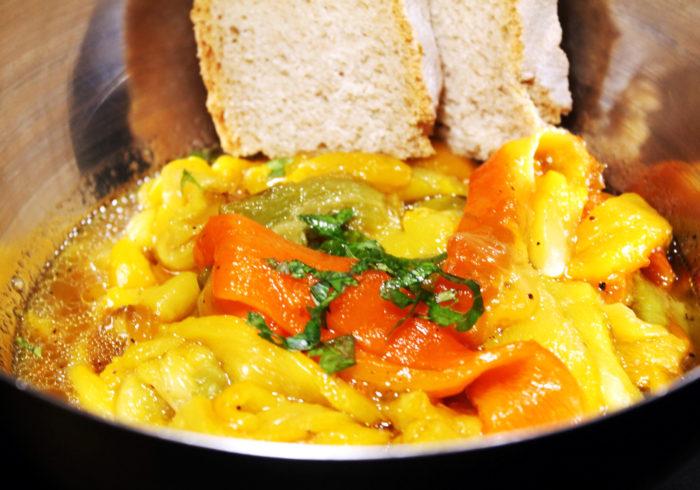 Insalata di peperoni arrosto - Ricette Passo Passo con foto