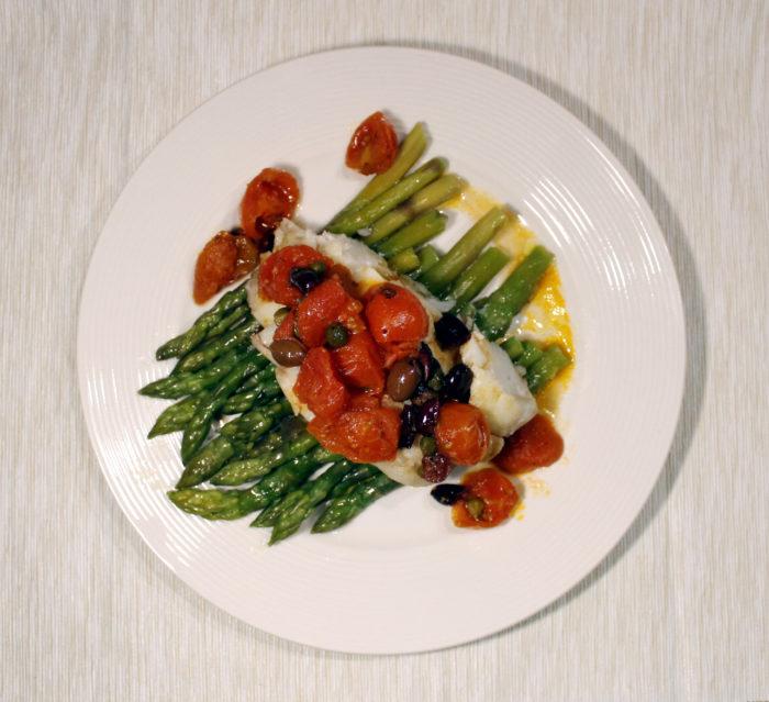 Merluzzo e asparagi - Ricette Passo Passo con foto