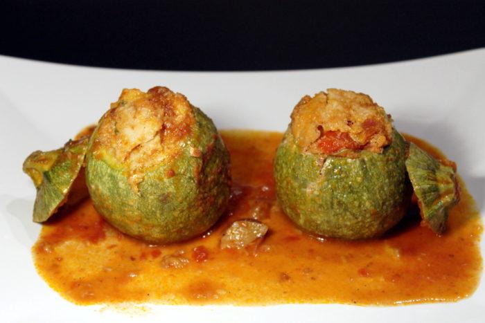 Zucchine ripiene di merluzzo - Ricette Passo Passo con foto
