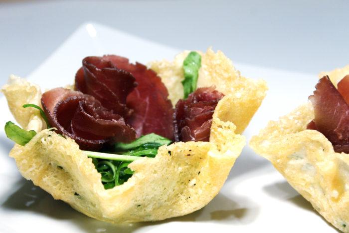 Cestini di parmigiano - Ricette Passo Passo con foto