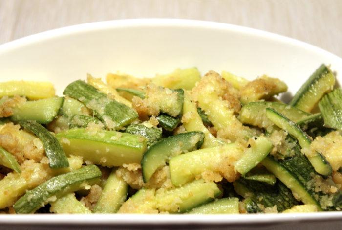 Zucchine sabbiose in padella - Ricette Passo Passo con foto