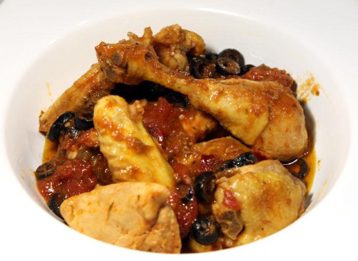 Pollo alla puttanesca - Ricette Passo Passo con foto