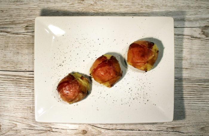 Bombette di patate e speck - Ricette Passo Passo con foto