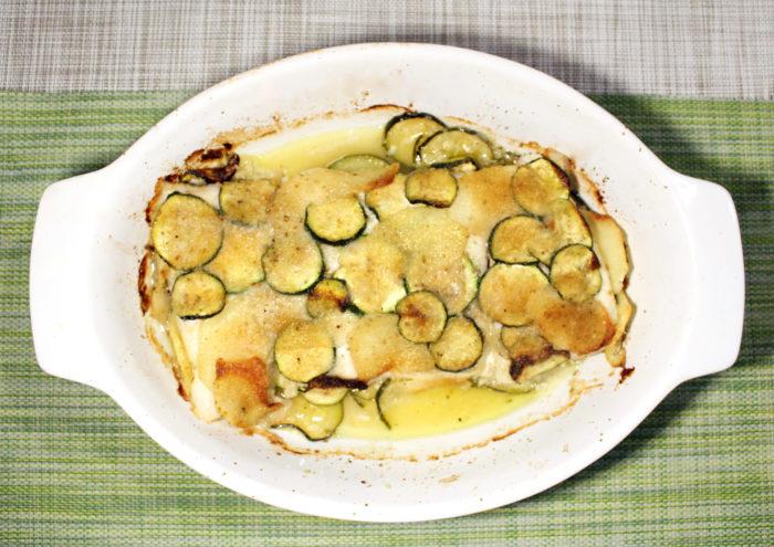 Merluzzo in crosta di patate e zucchine - Ricette Passo Passo con foto