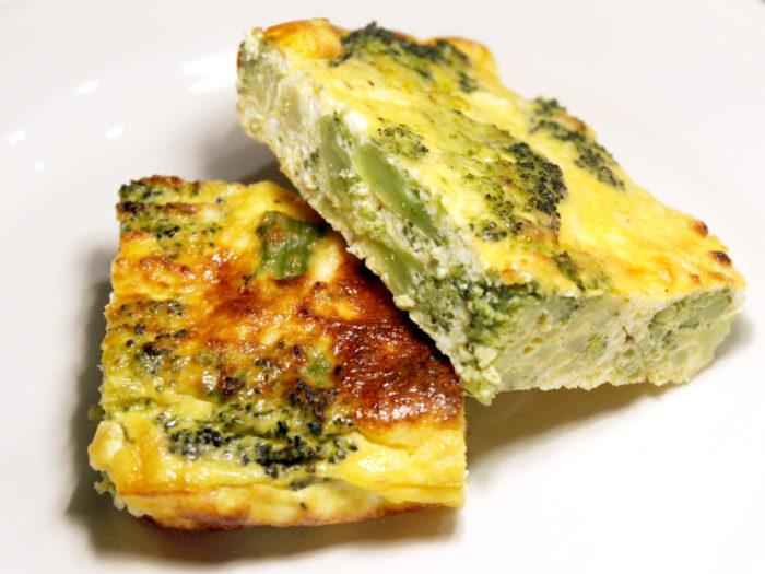 Frittata con broccoli al forno - Ricette Passo Passo con foto