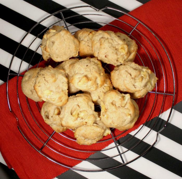 Biscotti alle mele senza uova - Ricette Passo Passo con foto