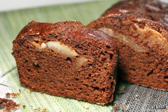 Plumcake al cioccolato e pere - Ricette Passo Passo con foto