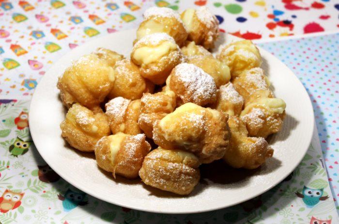 Zeppole di San Giuseppe fritte - Ricette Passo Passo con foto