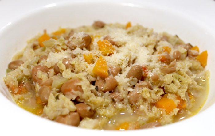 Zuppa di verza e fagioli - Ricette Passo Passo con foto