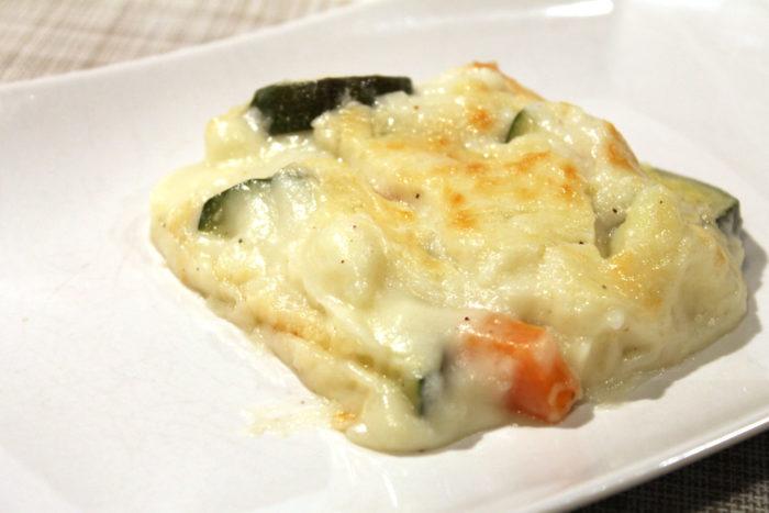 Ricetta Verdure Besciamella.Verdure Al Forno Con Besciamella Ricette Passo Passo Con Foto Dettagliate