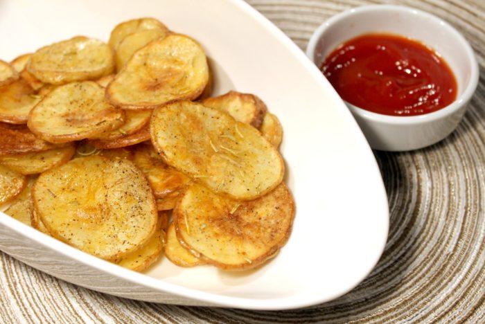 Chips di patate al forno - Ricette Passo Passo con foto