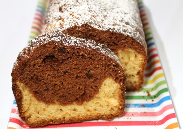 Plumcake bicolore - Ricette Passo Passo con foto