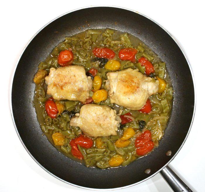 Sovracosce di pollo e peperoni in padella - Ricette Passo Passo con foto