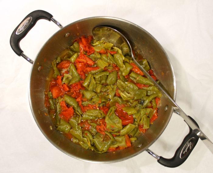 Peperoni friggitelli in padella - Ricette Passo Passo con foto