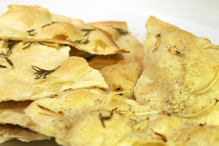 Schiacciatina croccante - Ricette Passo Passo con foto