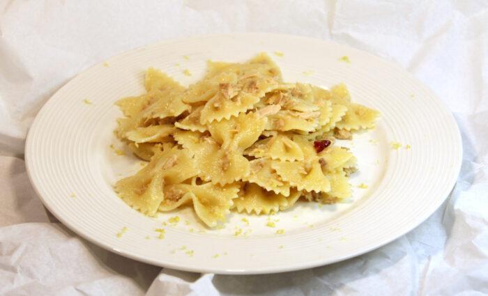 Pasta tonno e limone - Ricette Passo Passo con foto