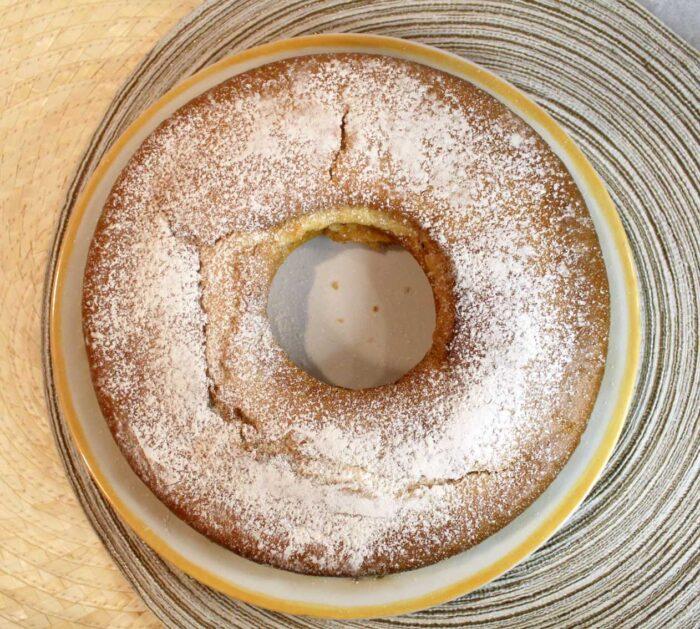 Ciambellone allo yogurt senza uova - Ricette Passo Passo con foto