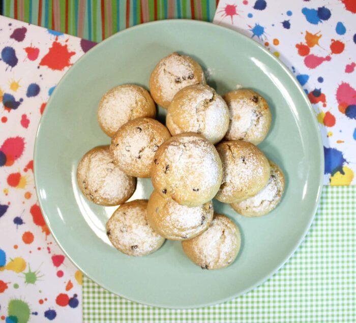 Biscotti arancia e cioccolato - Ricette Passo Passo con foto