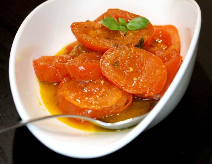 Pomodori in padella - Ricette Passo Passo con foto