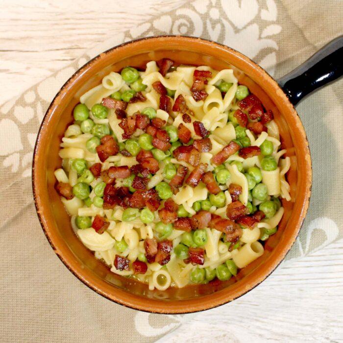 Pasta e piselli - Ricette Passo Passo con foto