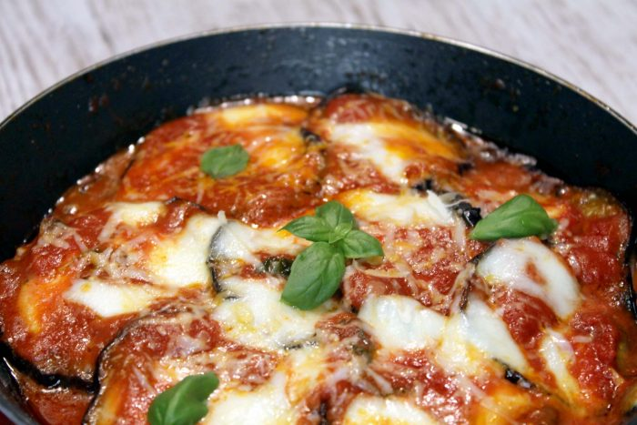Parmigiana di melanzane in padella - Ricette Passo Passo con foto